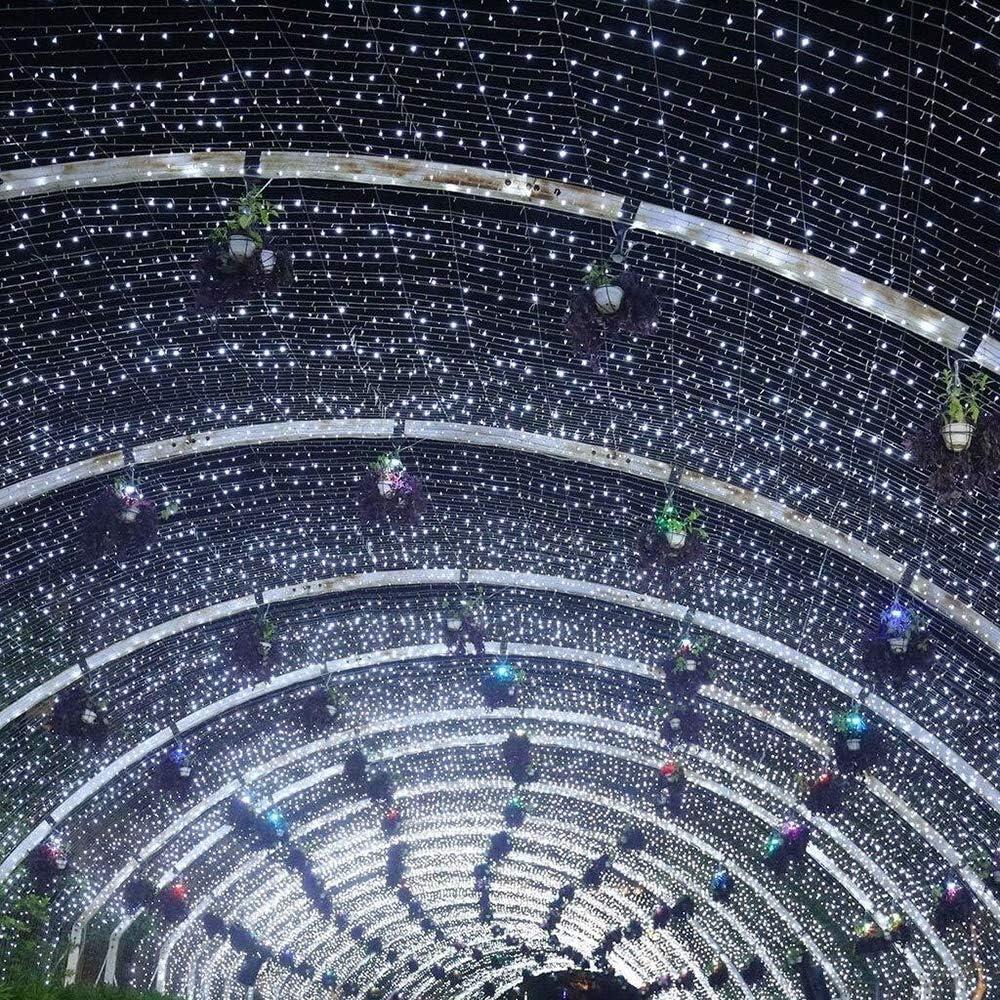 ZBM-ZBM Lichterketten, 100M 1000 LED-Schnur-Licht Mit 8 Lichteffekten Multi Farben Funktionen, For Die Innen- Und Außen Weihnachtsbaum Feier Dekoration Lichterketten (Color : Green-200m*2000leds) Purple-10m*100leds
