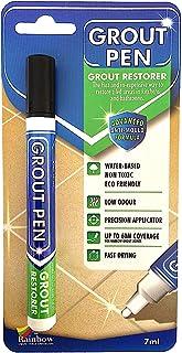 Grout Pen - Rotulador diseñado para restablecer la lechada en baños y cocinas, negro