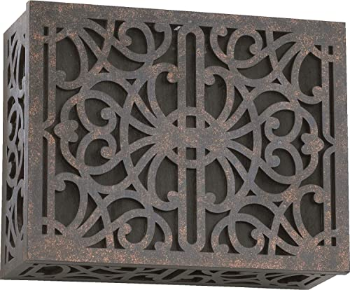 wholesale Quorum online sale 7-115-044 Lighting Accessory outlet online sale Toasted Sienna Chime Grill online