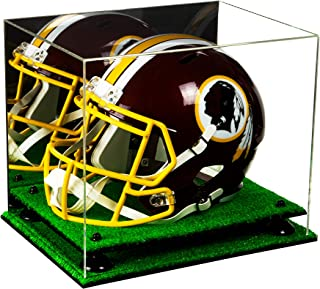 Deluxe Acrylic Full Size Football Helmet Display Case