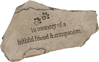 our beloved pet memorial stone