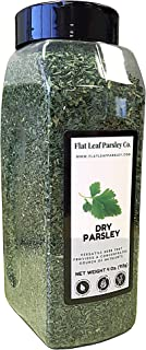 Flat Leaf Parsley Co. | 100% Natural Parsley Leaf | 4 oz. Jar