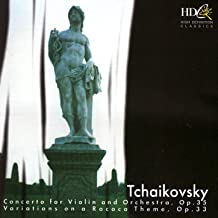 Tchaikovsky: Concerto For Violin and Orchestra, Variations On A Rococo Theme