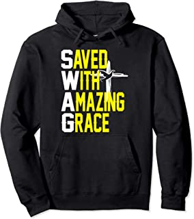 Saved With Amazing Grace Jesus Christian t-shirt hoodie