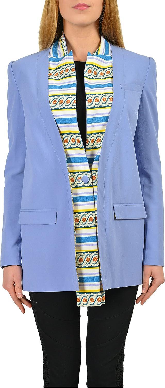 Just Cavalli Purple One Button Women's Blazer US S IT 40