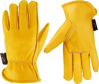 leather trucker gloves