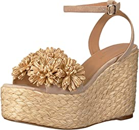 f91d348032f Loeffler Randall Posey Pleated Knot Flatform Espadrille | Zappos.com