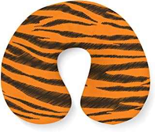 Tigger Stripes Winnie The Pooh Inspired Travel Neck Pillow Inflatable