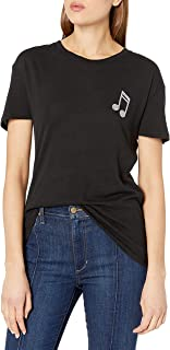 Goodie Two Sleeves Juniors' Music is Love Graphic T-Shirt
