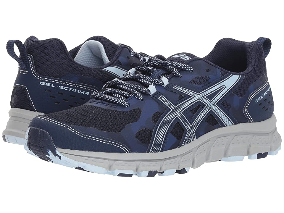 ASICS GEL-Scram 4 (Peacoat/Soft Sky) Women