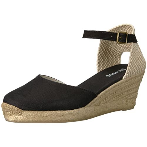 82ec1f55e Soludos Women's Closed-Toe midwedge (70mm) Espadrille Wedge Sandal