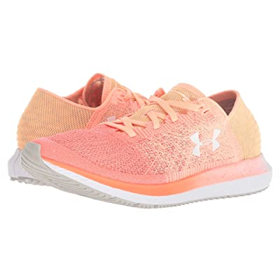 Under Armour UA Threadborne Blur (Peach Horizon/After Burn/White) Women
