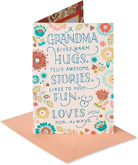 American Greetings Birthday Card for Grandma (Lucky For Me)
