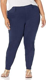 Amazon Essentials Jegging de Punto de Tamaño Grande - Pants Mujer