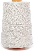Linen Thread - Linen Yarn Cone - 100% Flax Linen - 1 LBS - White Yarn - 3 PLY - Sewing Weaving Crochet Embroidering - 3.000 Yard