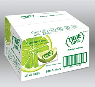 Sponsored Ad - TRUE LIME Water Enhancer, Bulk Pack (500 Packets) | Zero Calorie Unsweetened Water Flavoring | For Water, B...
