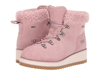 UGG Birch Lace-Up Shearling (Pink Crystal) Women