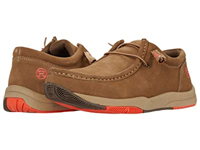 Roper Clearcut Low (Tan Suede Leather) Men
