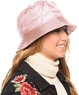 6a12779e637cb ANGELA   WILLIAM Adjustable Waterproof Bucket Rain Hat in Nylon
