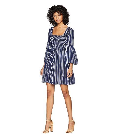 eeaa5df320a Jack by BB Dakota Call The Shots Striped Rayon Challis Dress at ...