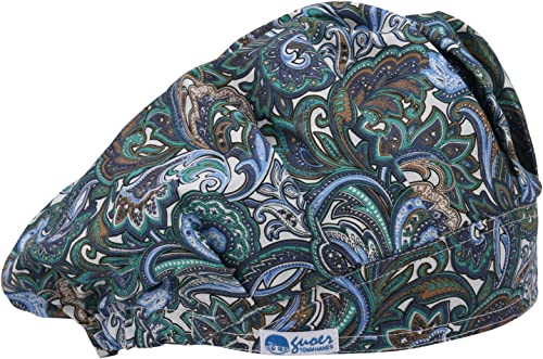 GUOER Hat Bouffant Cap Working Hat One Size Multi Color