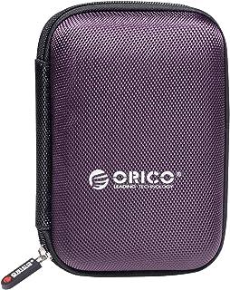 حافظة للقرص الصلب من اوريكو، حافظة واقية لحمل ملحقات السفر الالكترونية، حقيبة منظمة للاقراص الصلبة بحجم 2.5 انش والباور با...