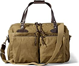 FILSON 48-Hour Tin Cloth Duffle Bag (Dark Tan)