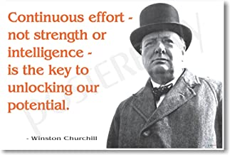 winston churchill continuous effort