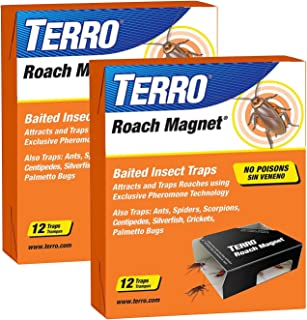 Victor M256 Poison-Free Insect Magnet Traps, 12-Pack (2 packages= 24 total)
