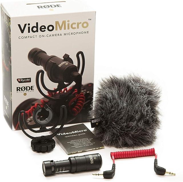 Rode Microphones VideoMicro - Micrófono para cámaras DSLR surtido: colores aleatorios