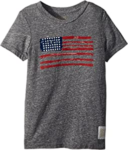 Vintage Tri-Blend American Flag Tee (Little Kids/Big Kids)