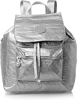 حقيبة ظهر عصرية للنساء من ماينديسا - فضي