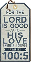 Kindred Hearts Small Hanging Tag The Lord is Good, Multicolor