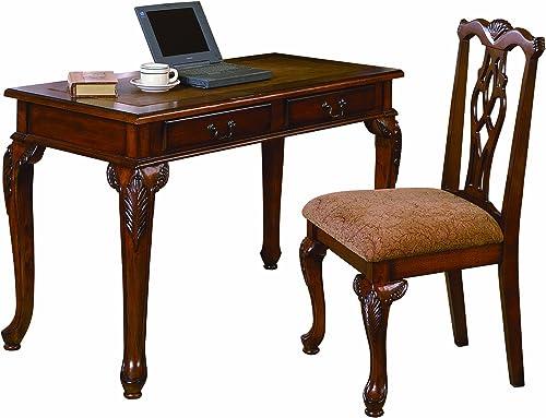 high quality Crown Mark Fairfax online sale Home office Desk/Chair lowest Set online sale
