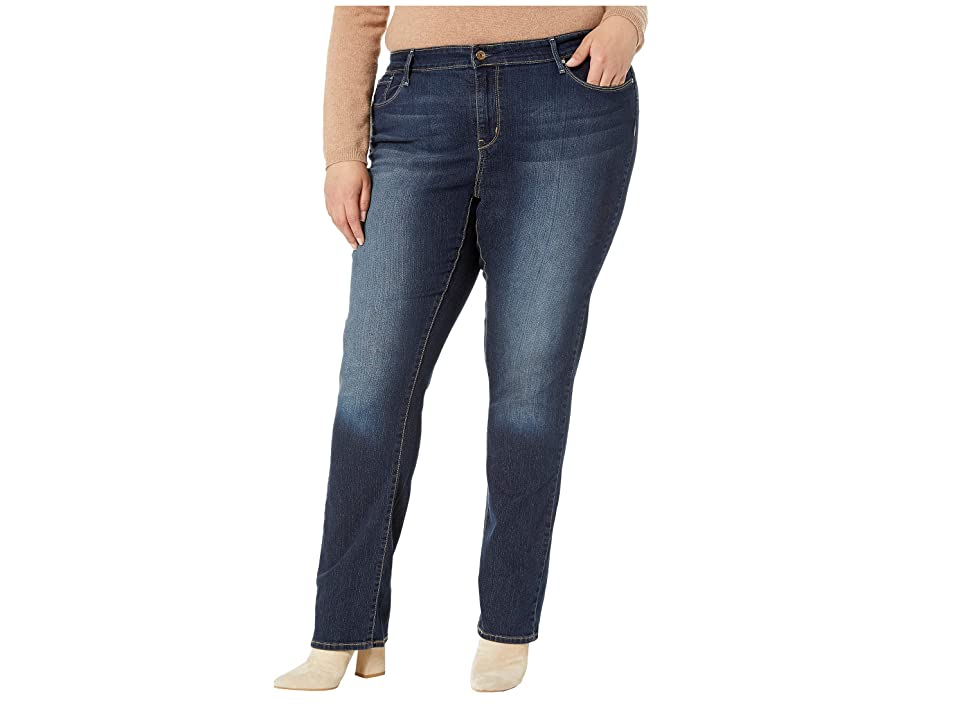 Signature by Levi Strauss & Co. Gold Label Plus Size Straight Jeans (Cosmos) Women