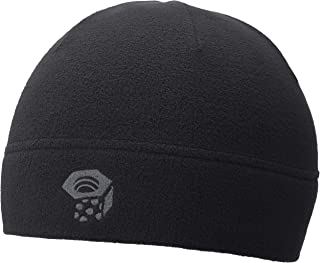 Micro Dome Men's Lightweight Warm Beanie with Polyester Fleece for Skiing, Snowboarding, and Casual Everyday - Black - Regular