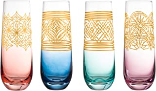 Best colored stemless champagne flutes Reviews