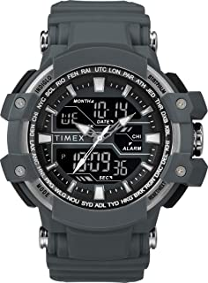 Timex Mens Quartz Watch, Digital Display And Resin Strap - TW5M22600