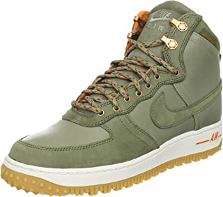 Nike Men's Air Force 1 Hi DCNS Military Boot Silver Sage/Medium Olive 537889-300 Shoe