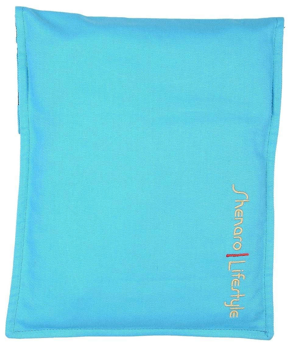 ブレンド乗り出す正しくShenaro Lifestyle's: Cotton Organic and Eco-Friendly Pain Relief Wheat Bag with Treated Whole Grains and Aroma of Lavender
