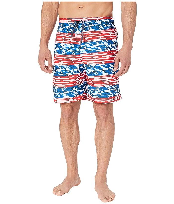 Speedo  Americana Print E-Board 20 (Classic Blue) Mens Swimwear