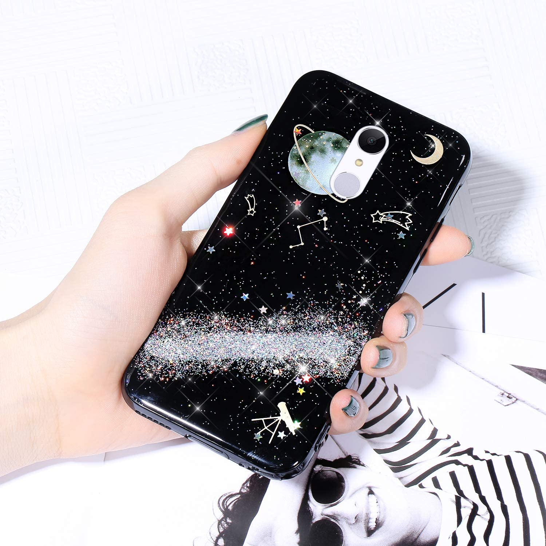 Case for Xiaomi Redmi 5 Starry Cover Brand Cheap Sale Venue Glitter Sparkle Outlet sale feature Shiny