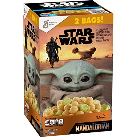 Amazon.com: General Mills Star Wars Cereal, 10.5 Ounce (Pack of 4)