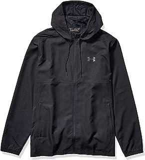 Men's Sportstyle Woven Full Zip Hoodie
