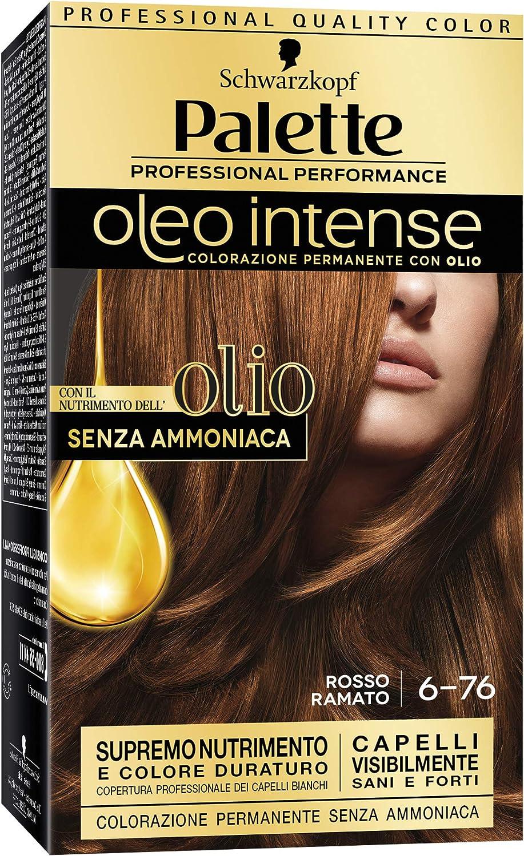 Palette Oleo 6.76 Rosso Ramato: Amazon.es: Salud y cuidado ...