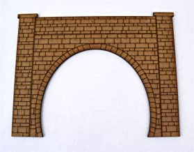 wws Single Track Tunnel Entrance x 2 - OO Guage Model Railroading Terrain