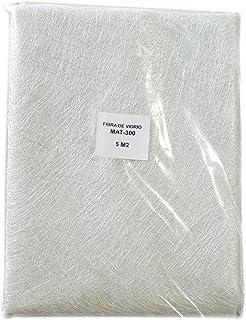 comprar comparacion Fibra de Vidrio MAT-300 (densidad 300gr/m2) 5m2 para reparaciones