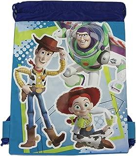 Disney Blue Woody,  Buzz,  and Jessie Drawstring Bag - Kids Drawstring Backpack