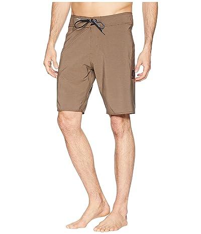 Volcom Zap Lido Solid Mod 21 Boardshorts (Mushroom) Men