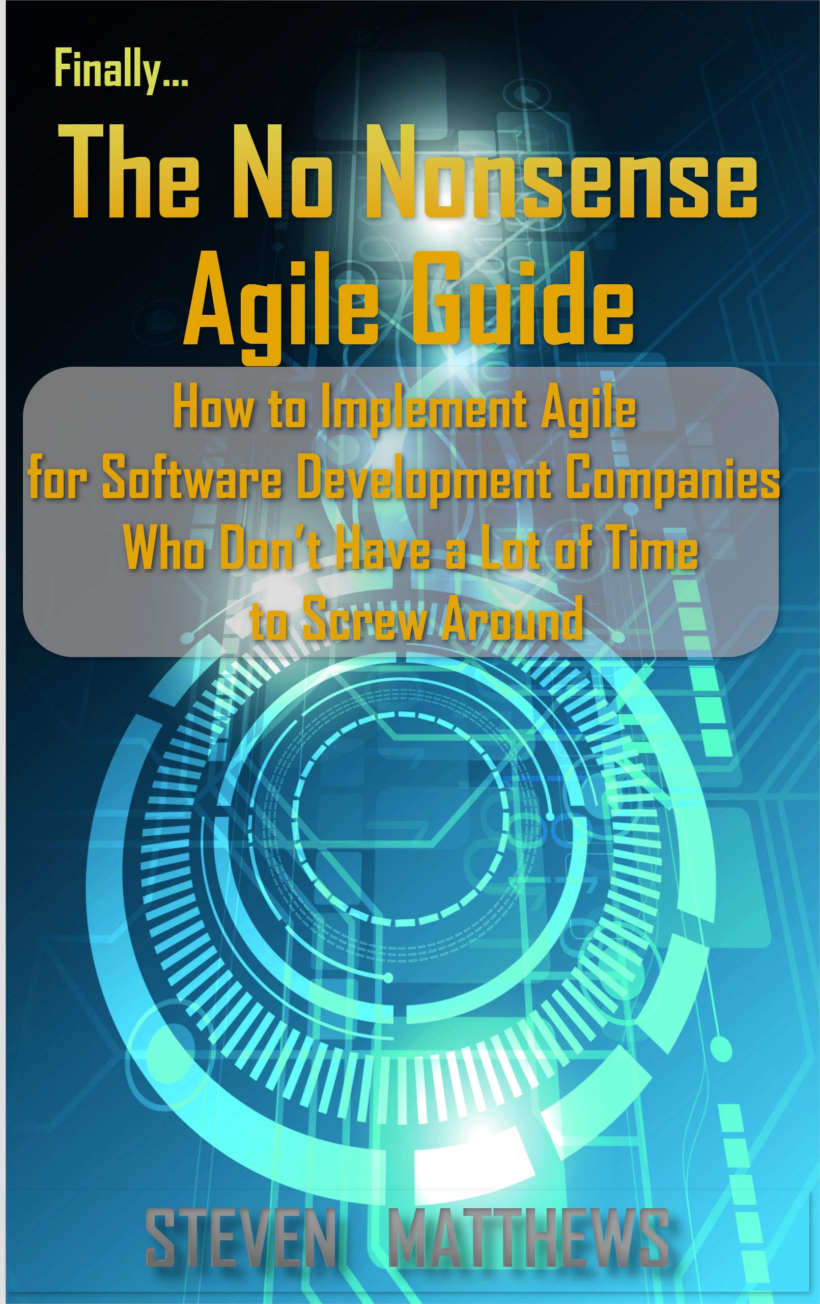 The No Nonsense AGILE Guide: How to Implement AGILE for Software Development Companies Who Don't Have a Lot of Time to Screw Around